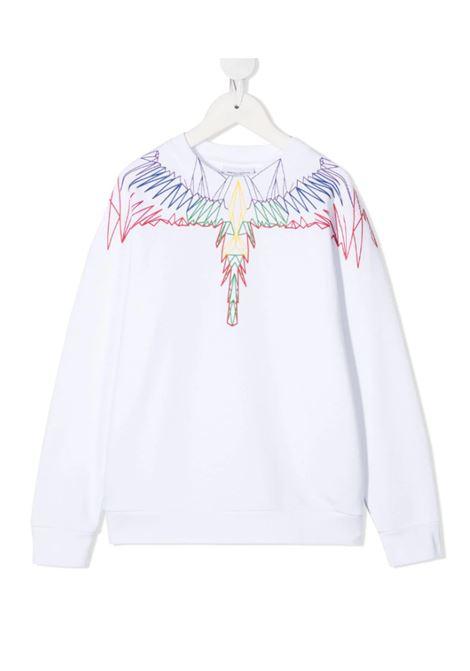 MARCELO BURLON | sweatshirt | MAR129BIANCO