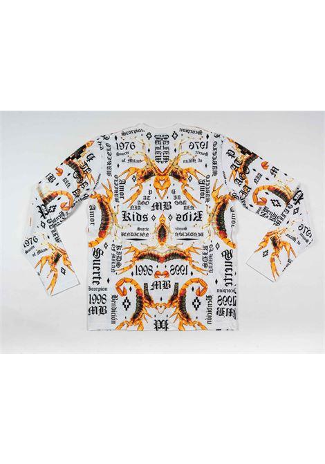 MARCELO BURLON | t-shirt long sleeve | MAR145BIANCO FANTASIA