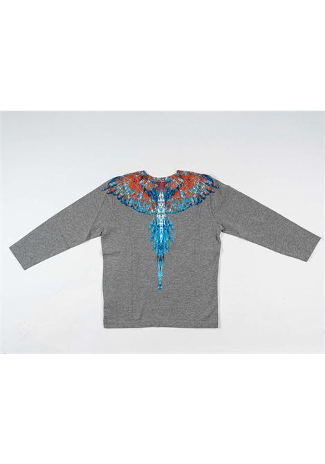 MARCELO BURLON | t-shirt long sleeve | MAR149GRIGIO