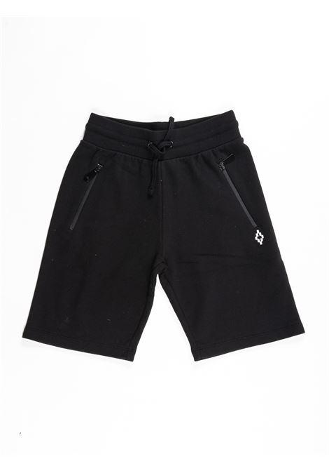 MARCELO BURLON | plushy trousers | MAR396NERO