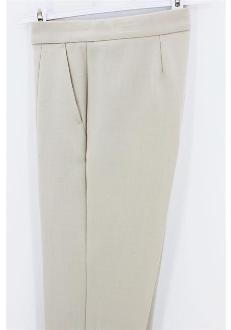 Pantalone MaxMara MAXMARA | Pantalone | MAXSASSARIBEIGE