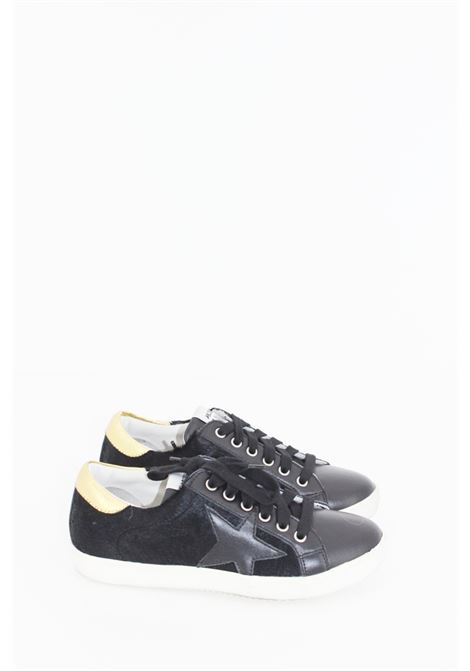 MELINE   Sneakers   SNEAK052NERA-ORO