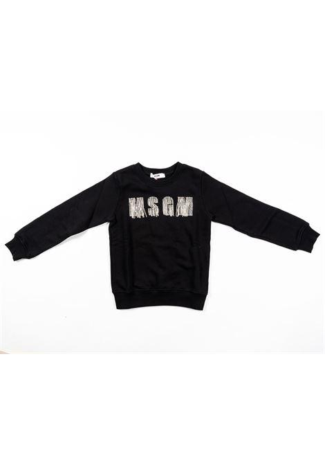 Felpa MSGM MSGM | Felpa | MSG119NERO