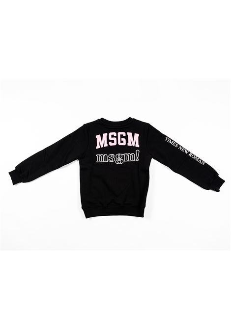 Felpa MSGM MSGM | Felpa | MSG121NERO