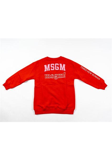 Felpa MSGM MSGM | Felpa | MSG121ROSSO