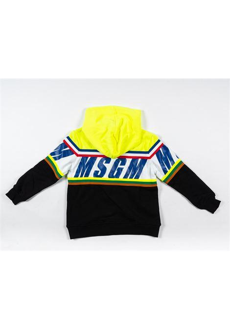Felpa MSGM MSGM | Felpa | MSG75GIALLO NERO
