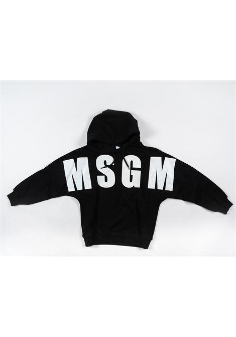 Felpa MSGM MSGM | Felpa | MSG79NERO