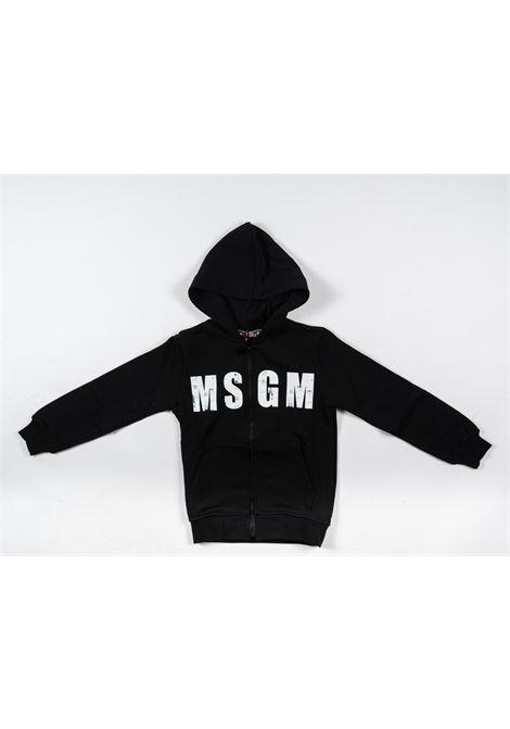 Felpa MSGM MSGM | Felpa | MSG85NERO