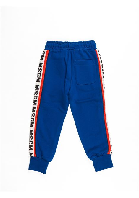 MSGM | plushy trousers | MSG94BLUETTE