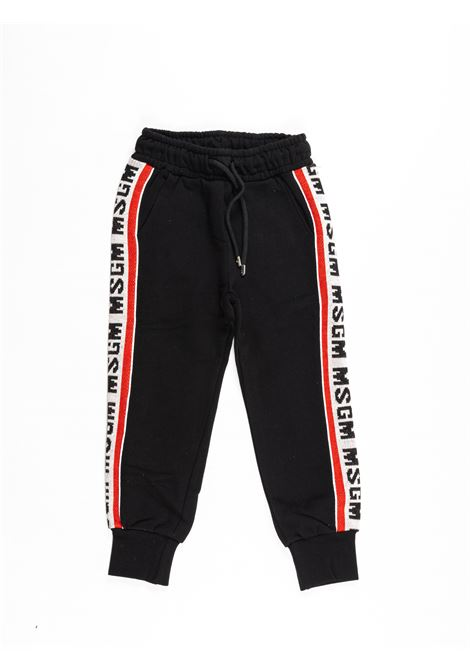 MSGM | plushy trousers | MSG94NERO