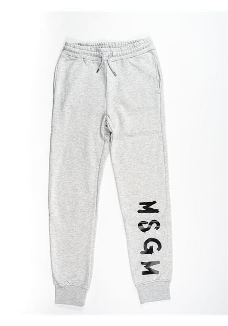 Pantalone felpa MSGM MSGM | Pantalone felpa | MSG95GRIGIO