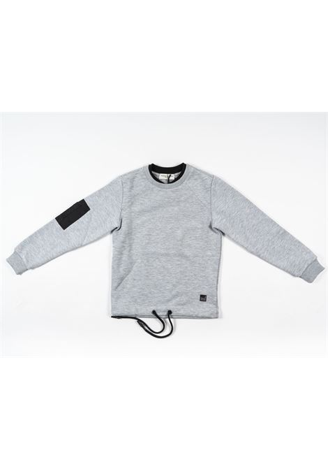 PAOLO PECORA | sweatshirt | PAO64GRIGIO
