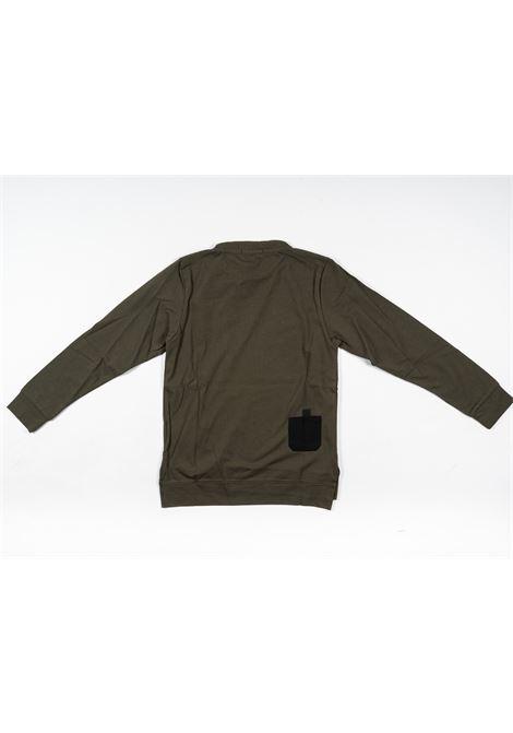 PAOLO PECORA | t-shirt long sleeve | PAO75VERDE