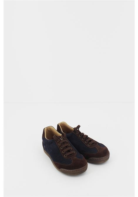 PEPE' | Sneakers | SNEAK070BLU-TESTA DI MORO