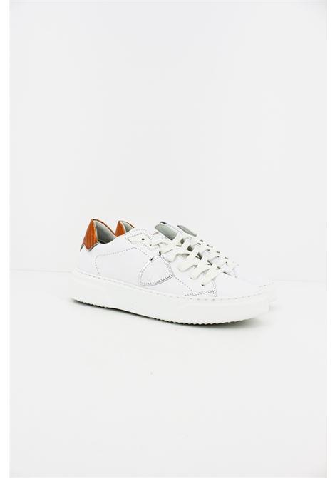 Sneakers Philippe Model PHILIPPE MODEL | Sneakers | BYLDVY02BIANCA-ARANCIO