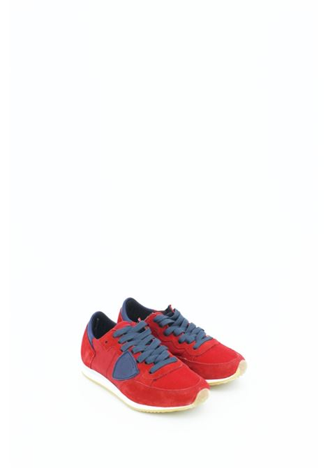 PHILIPPE MODEL | Sneakers | PMODE004ROSSA-BLU