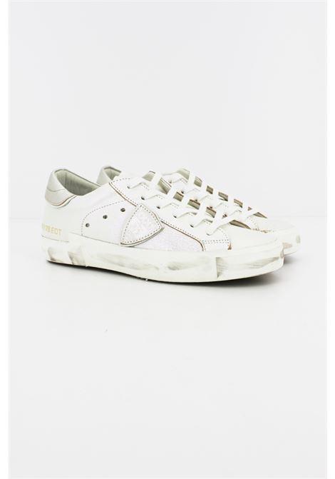 Sneakers Philippe Model PHILIPPE MODEL | Sneakers | PRLDIR01BIANCA LUREX ROSA