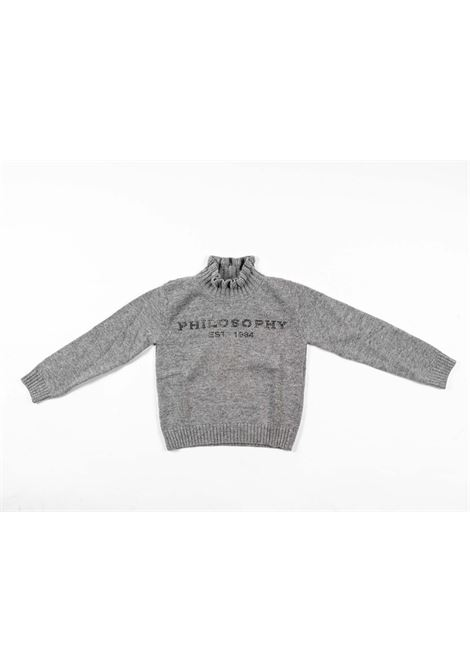 PHILOSOPHY | wool sweater | PHI37GRIGIO