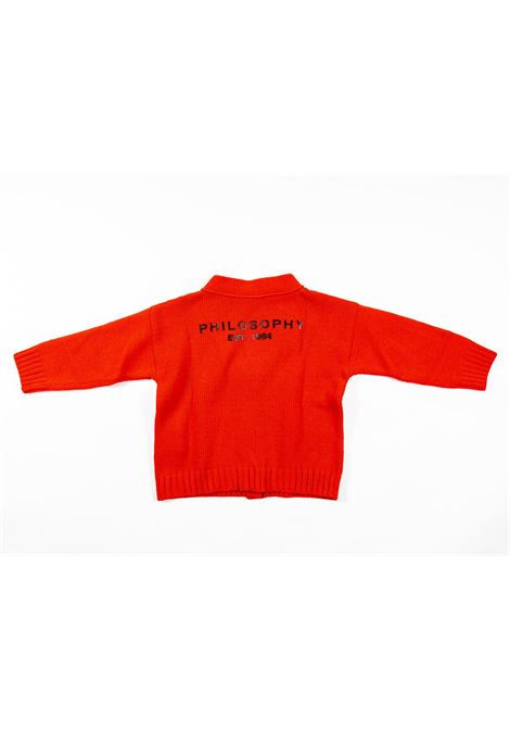 PHILOSOPHY | wool sweater | PHI40ROSSO