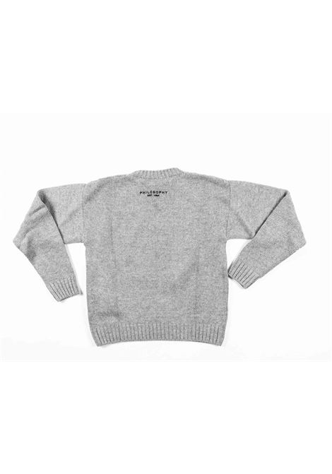 PHILOSOPHY | wool sweater | PHI43GRIGIO