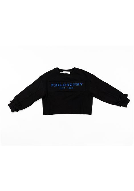 PHILOSOPHY | sweatshirt | PHI46NERO