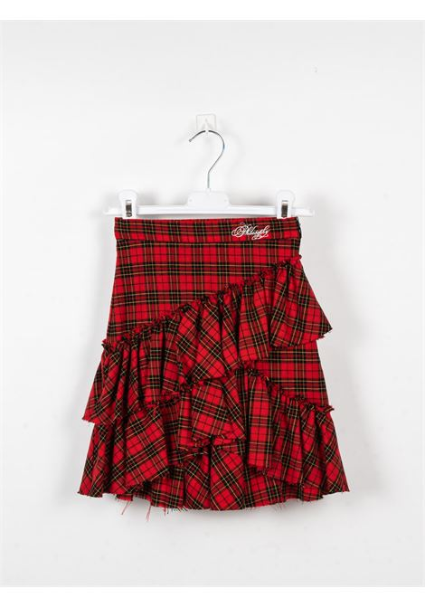 PHILOSOPHY | skirt | PHI72ROSSO QUADRI