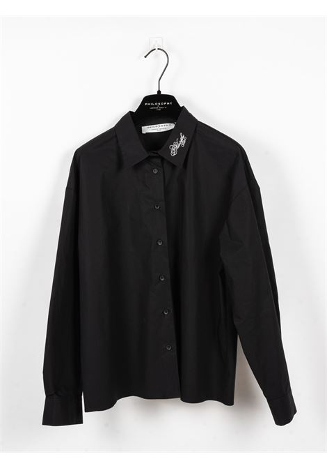 PHILOSOPHY | shirt | PHI76NERO