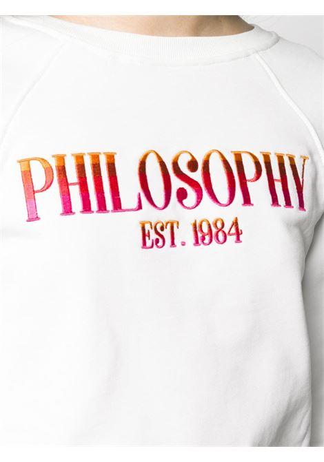 Felpa PHILOSOPHY PHILOSOPHY | Felpa | PHICA1709BIANCA