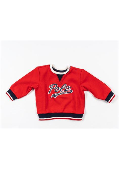 POLO RALPH LAUREN | sweatshirt | POL152ROSSO
