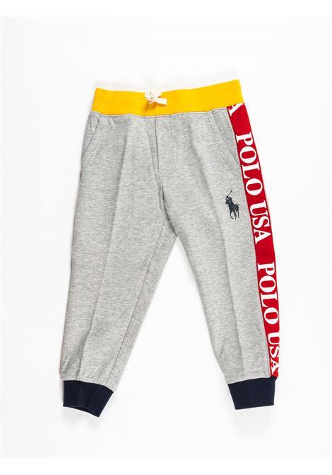 POLO RALPH LAUREN | plushy trousers | POL165GRIGIO