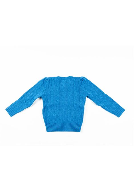 POLO RALPH LAUREN | wool sweater | POL166AZZURRO