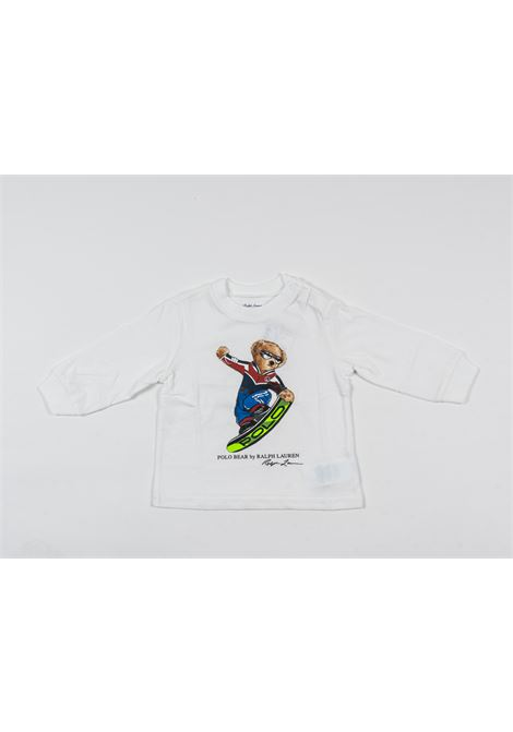 POLO RALPH LAUREN | t-shirt long sleeve | POL177BIANCO