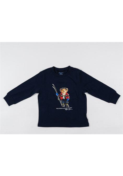 POLO RALPH LAUREN | t-shirt long sleeve | POL183BLU