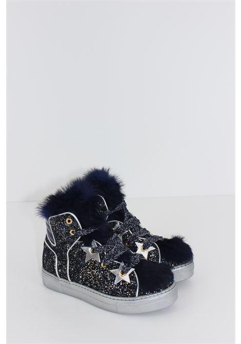 QUIS QUIS | Sneakers | SNEAK026BLU-ARGENTO