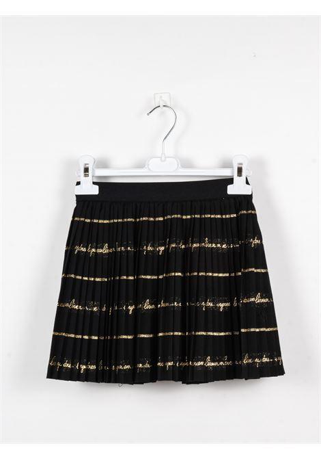 SIMONETTA | skirt | SIM100NERO ORO