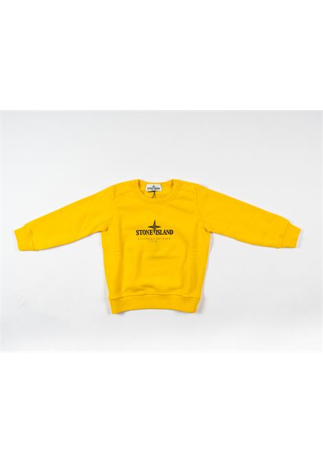 STONE ISLAND | sweatshirt | STO79GIALLO
