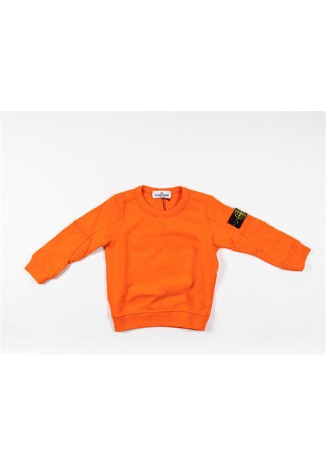 STONE ISLAND | sweatshirt | STO83ARANCIO
