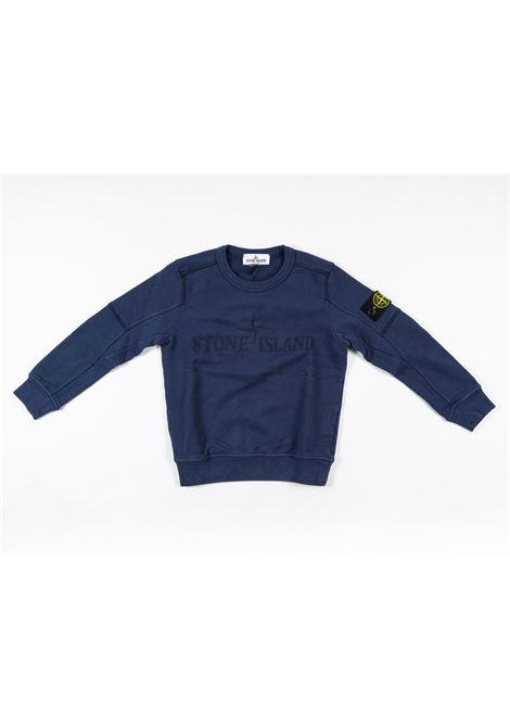 STONE ISLAND | sweatshirt | STO83BLU