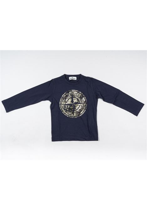 STONE ISLAND | t-shirt long sleeve | STO88BLU