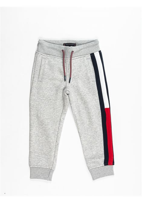 TOMMY HILFIGER | plushy trousers | TOM27GRIGIO