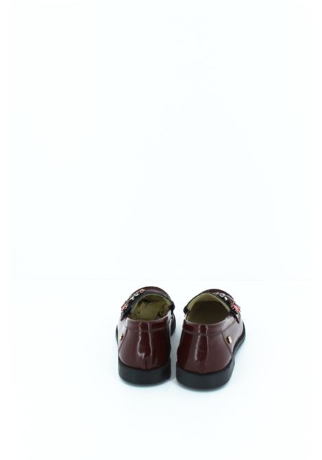 TWIN SET | moccasins  | MOCAS003BORDEAUX