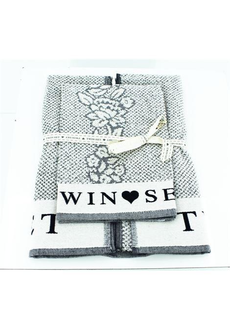 Set due asciugamani Twin Set TWIN SET | Asciugamani | SETLINGERIEBLU