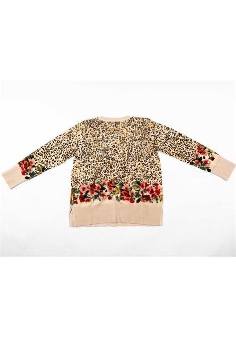 TWIN SET | wool sweater | TWI14BEIGE MACULATO