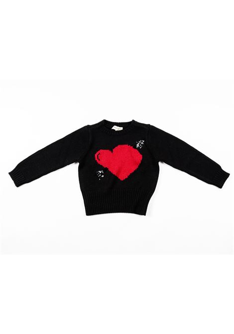 TWIN SET | wool sweater | TWI15NERO