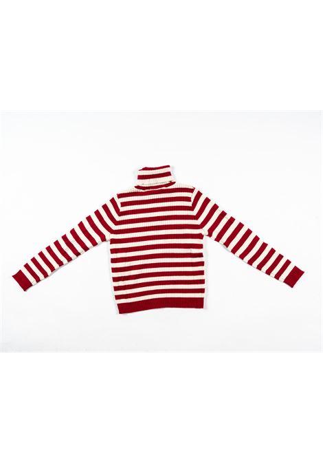 TWIN SET | wool sweater | TWI23RIGA PANNA BORDEAUX
