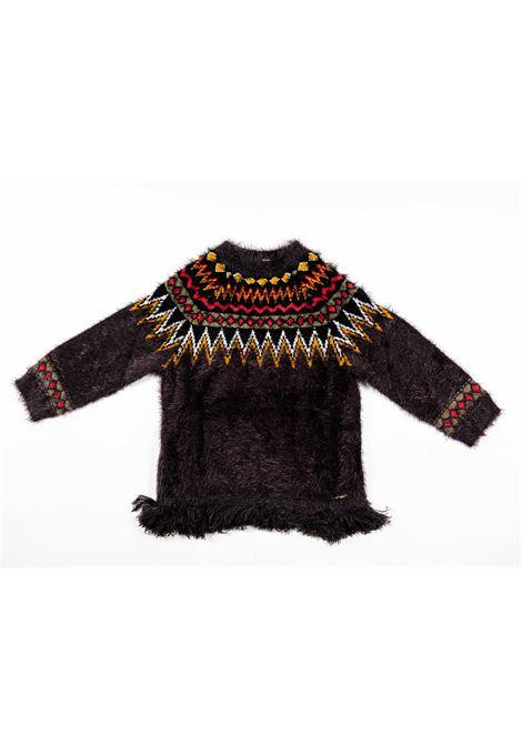 TWIN SET | wool sweater | TWI24MULTICOLOUR