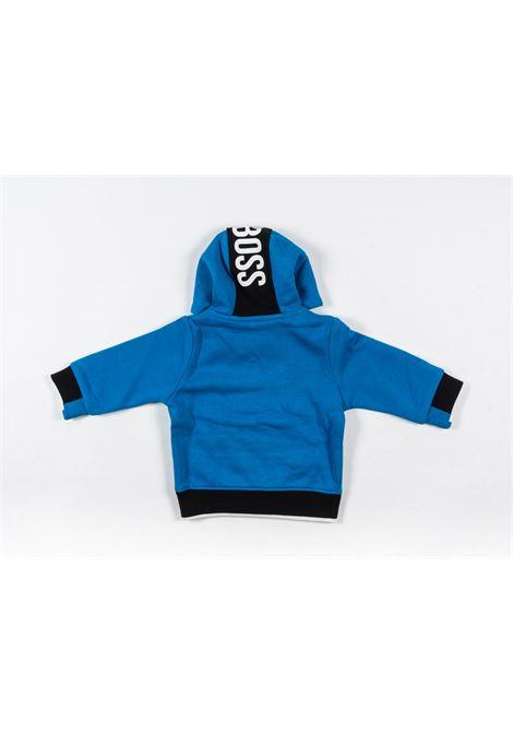 UGO BOSS | sweatshirt | UGO50AZZURRO