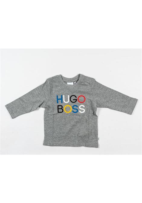 UGO BOSS | t-shirt long sleeve | UGO56GRIGIO