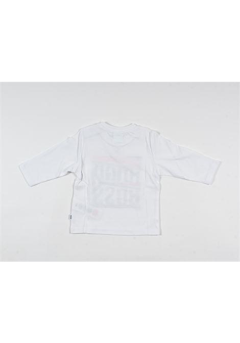 UGO BOSS | t-shirt long sleeve | UGO59BIANCO