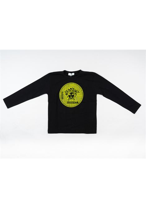 T-shirt Versace VERSACE | T-shirt m/l | VER22NERO